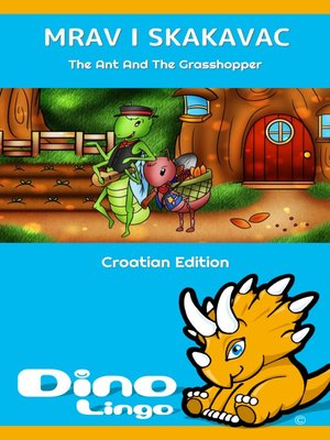 cover image of MRAV I SKAKAVAC / The Ant And The Grasshopper