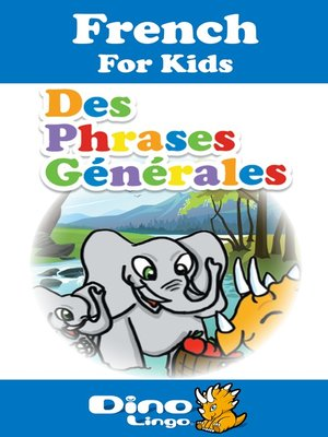 cover image of French for kids - Phrases storybook