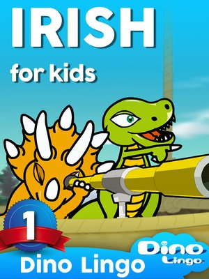 cover image of Irish for Kids, Lesson 1