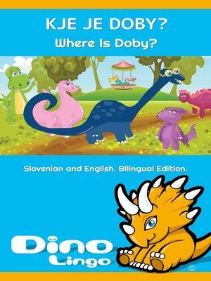 cover image of Kje je Doby? / Where Is Doby?