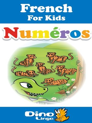 cover image of French for kids - Numbers storybook