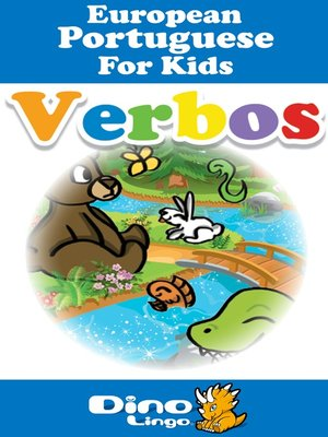 cover image of European Portuguese for kids - Verbs storybook