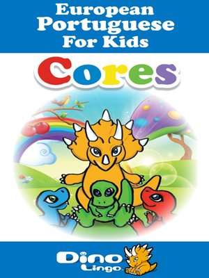 cover image of European Portuguese for kids - Colors storybook