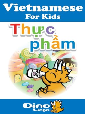 cover image of Vietnamese for kids - Food storybook
