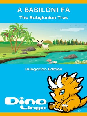 cover image of A babiloni fa / The Babylonian Tree