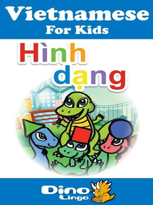 cover image of Vietnamese for kids - Shapes storybook