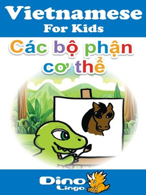 cover image of Vietnamese for kids - Body Parts storybook
