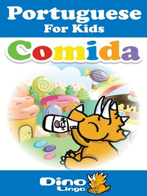 cover image of Portuguese for kids - Food storybook