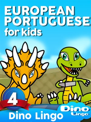 cover image of European Portuguese for Kids, Lesson 4