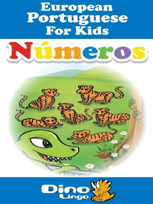 cover image of European Portuguese for kids - Numbers storybook