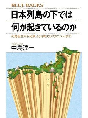 cover image of 日本列島の下では何が起きているのか 列島誕生から地震・火山噴火のメカニズムまで: 本編