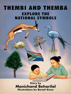 cover image of Thembi and Themba explore the national symbols