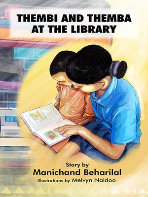cover image of Thembi and Themba at the library