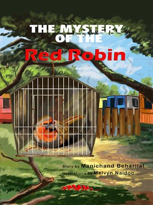 cover image of The mystery of the red robin