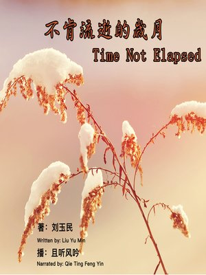 cover image of 不肯流逝的岁月