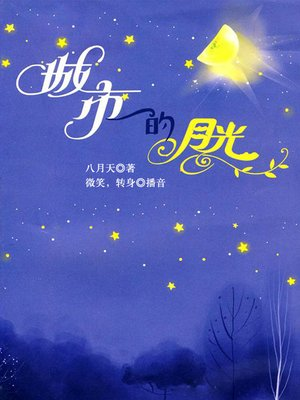 cover image of 城市的月光