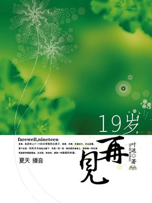 cover image of 19岁,再见