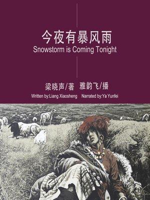 cover image of 今夜有暴风雪
