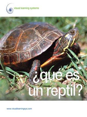 cover image of ¿Qué es un reptil?