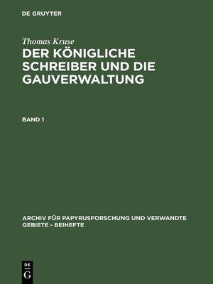cover image of Thomas Kruse