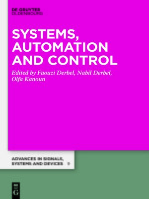 cover image of Systems, Automation, and Control
