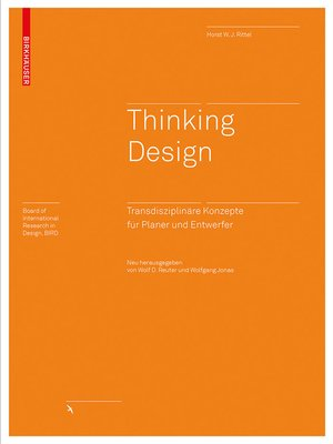 cover image of Thinking Design