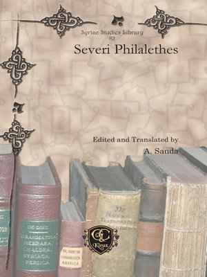 cover image of Severi Philalethes