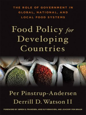 cover image of Food Policy for Developing Countries