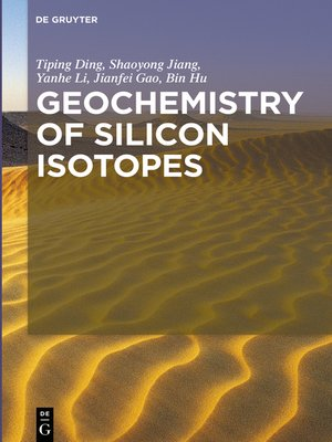 cover image of Geochemistry of Silicon Isotopes