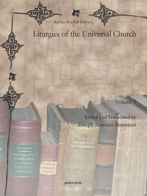 cover image of Liturgies of the Universal Church
