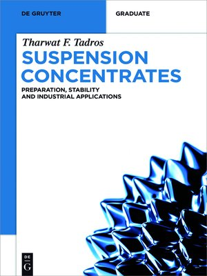 cover image of Suspension Concentrates