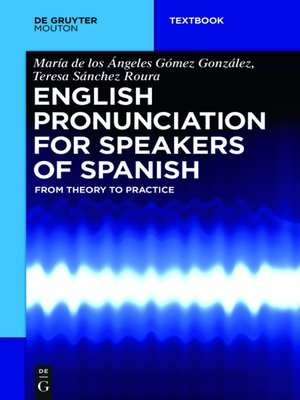 cover image of English Pronunciation for Speakers of Spanish
