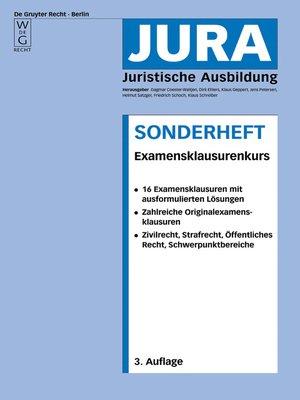 cover image of Examensklausurenkurs