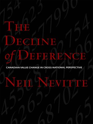 cover image of The Decline of Deference
