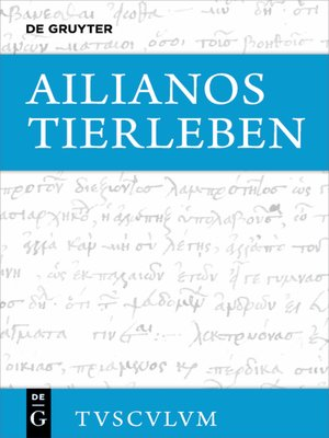 cover image of Tierleben