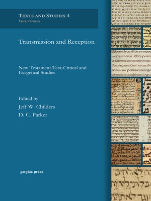 cover image of Transmission and Reception