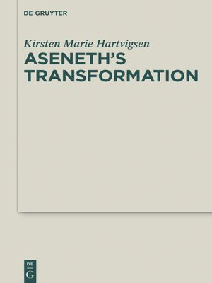 cover image of Aseneth's Transformation