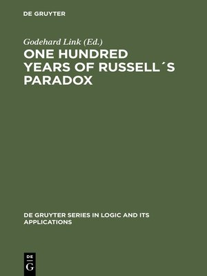 cover image of One Hundred Years of Russell´s Paradox