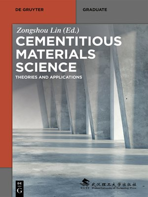 cover image of Cementitious Materials Science