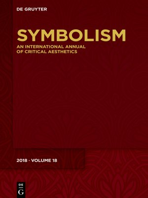cover image of Symbolism 2018