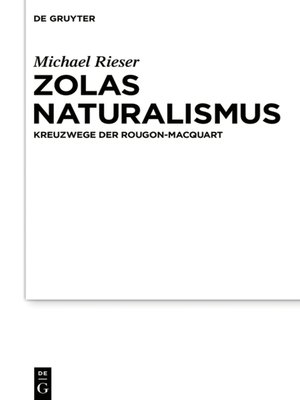 cover image of Zolas Naturalismus