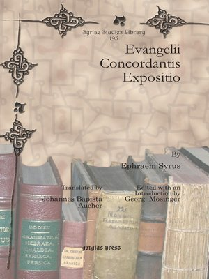 cover image of Evangelii Concordantis Expositio