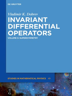 cover image of Supersymmetry