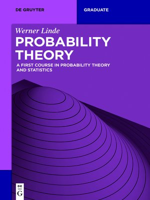cover image of Probability Theory