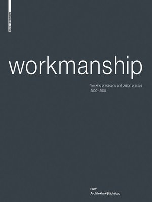 cover image of Workmanship