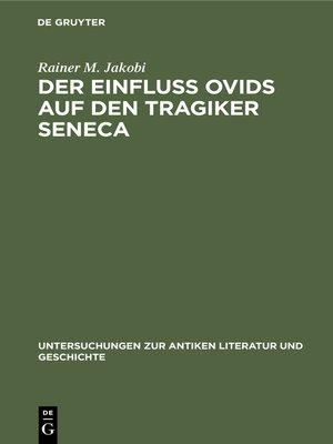 cover image of Der Einfluss Ovids auf den Tragiker Seneca