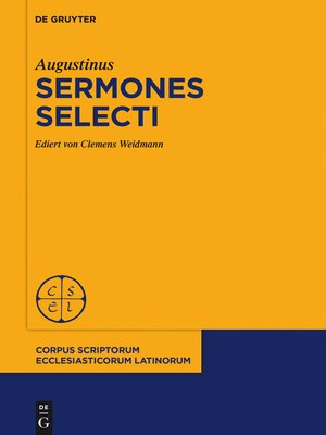 cover image of Sermones selecti