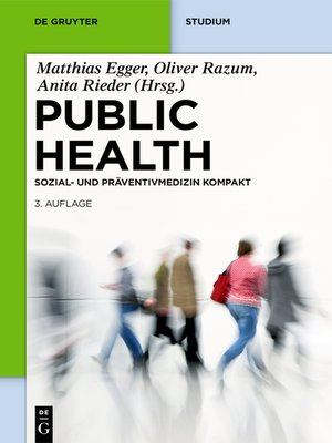 cover image of Public Health Kompakt