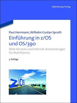 cover image of Einführung in z/OS und OS/390