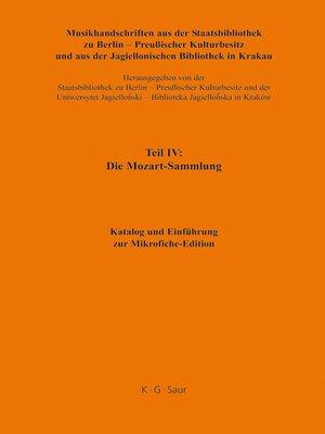 cover image of Katalog und Einführung zur Mikrofiche-Edition